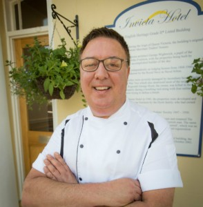 Head Chef Invicta Hote Micheal Deans
