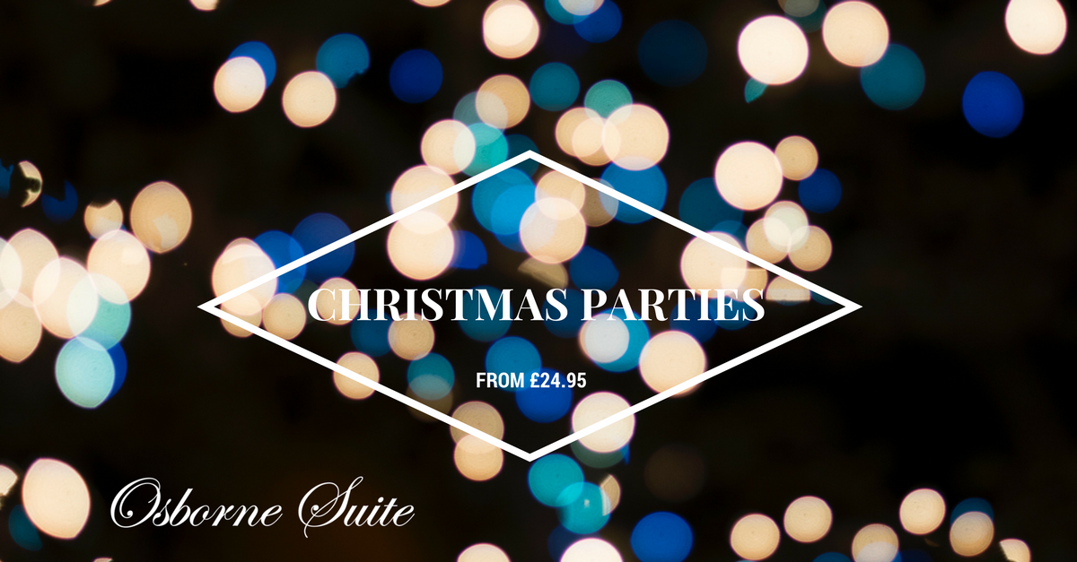 CHRISTMAS PARTIES AT THE INVICTA