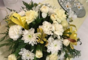 Invicta Hotel Wedding Gallery Yellow flowers